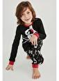 Penti Erkek Cocuk  Pijama Takımı  In Fabrıc - Cotton %100   Siyah